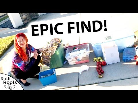 How Much For Everything?? HUGE SCORE at a Garage Sale!