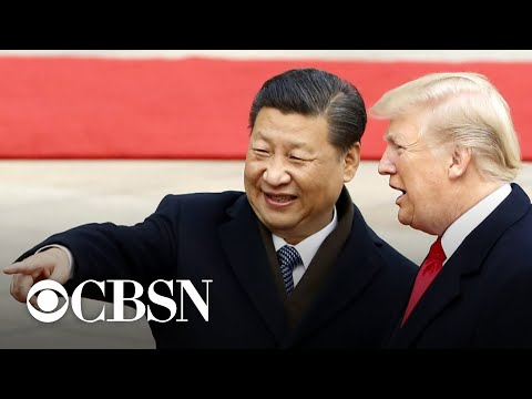 Trump confident China wants to make a trade deal