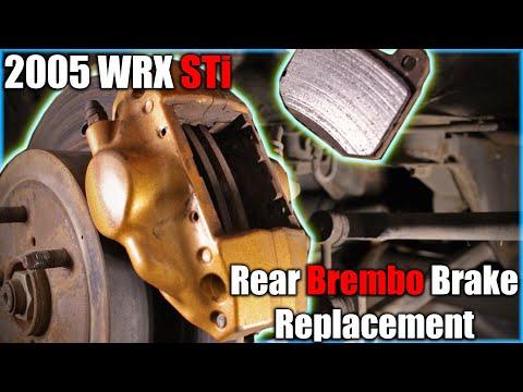 Subaru WRX STi Rear Brembo Brake Replacement