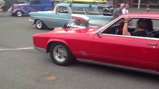 Must see and hear 8-71 Blown red 1966 Buick Riviera