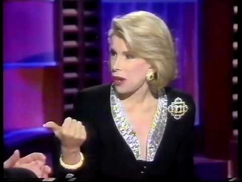 Joan Rivers Interview with Clive Anderson - BBC1 - Very Funny!