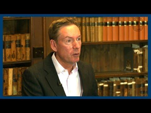 Interviewing Hosni Mubarak   Frank Gardner   Oxford Union