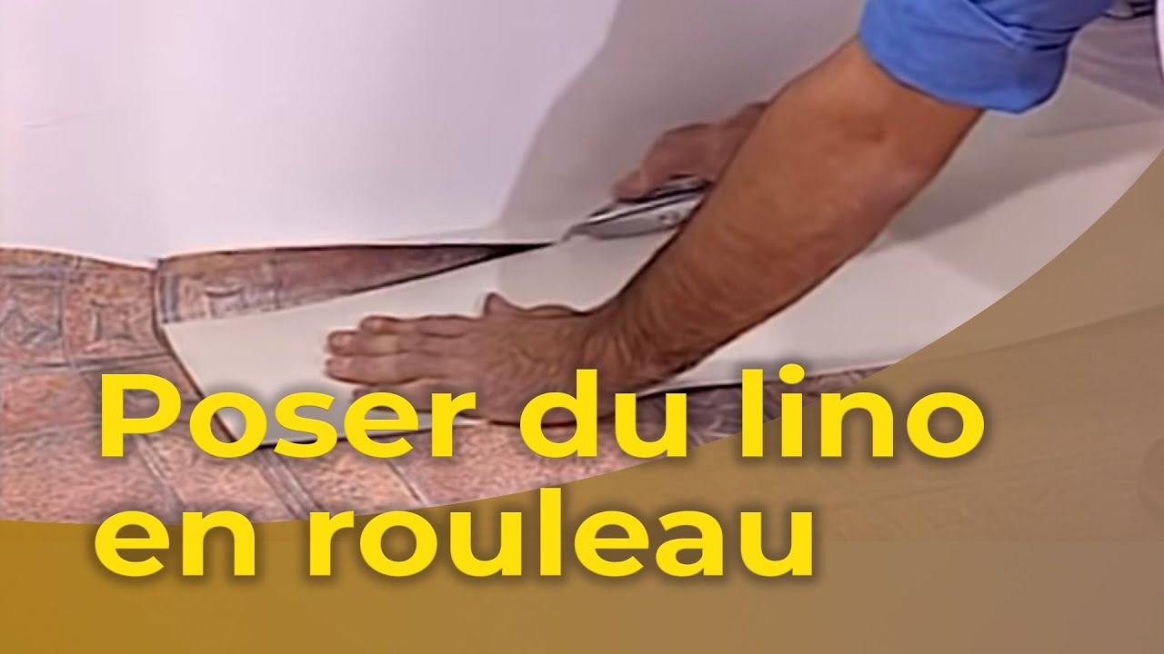 Mettre Du Lino Sur Du Carrelage poser du lino en rouleau