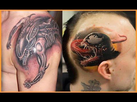 Best Aliens Tattoos Designs