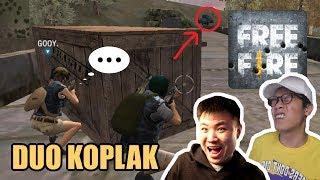 DUO KOPLAK MANTAN PUBG !! NGAKAK !! ( with GOGOGOY ) - Free Fire [Indonesia] Gameplay
