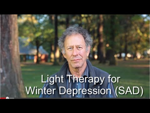 Light Therapy For Winter Depression