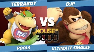 Smash Ultimate Tournament - Terraboy (Bowser Jr.) Vs. DJP (DK, Lucina) SSBU Xeno 161 Pools