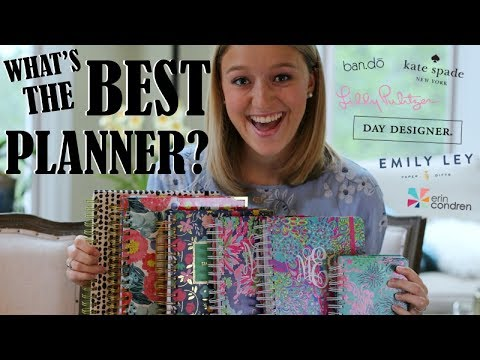 Comparing & Contrasting Popular Planners || Lilly vs Kate Spade vs Bando (& MORE!)