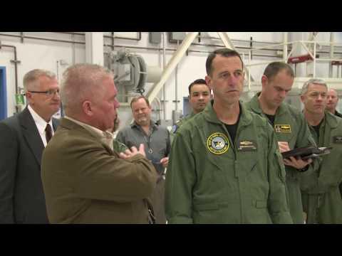 CNO visits Weapons Division