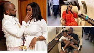 Kusafiri na baby mama kwenye private jet kwamponza Davido, afunguka ilivyokua, akiri Chioma kuumia