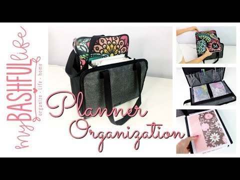 Planner Organization / How to Organize On the Go