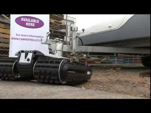 Camper Trolley Rangierhilfe CT 2500 Wohnwagen Bootstrailer Rangiersystem Pferdeanh/änger Einparkhilfe