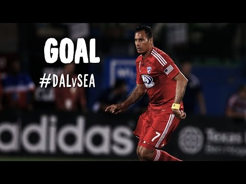 GOAL: Blas Perez heads it home to seal 3 all points | FC Dallas vs Seattle Sounders
