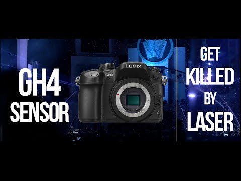 Lumix Gh4 sensor get burned by laser at festival in Thailand