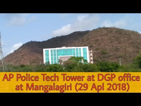 [Bike View] Ap Police Tech Tower At DGP Office At Vijayawada To Guntur Highway 29 Apl 2018