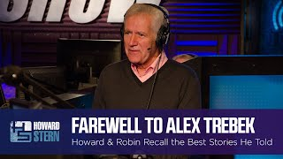 Howard & Robin Remember Alex Trebek and the Best Stories He Told on the Stern Show