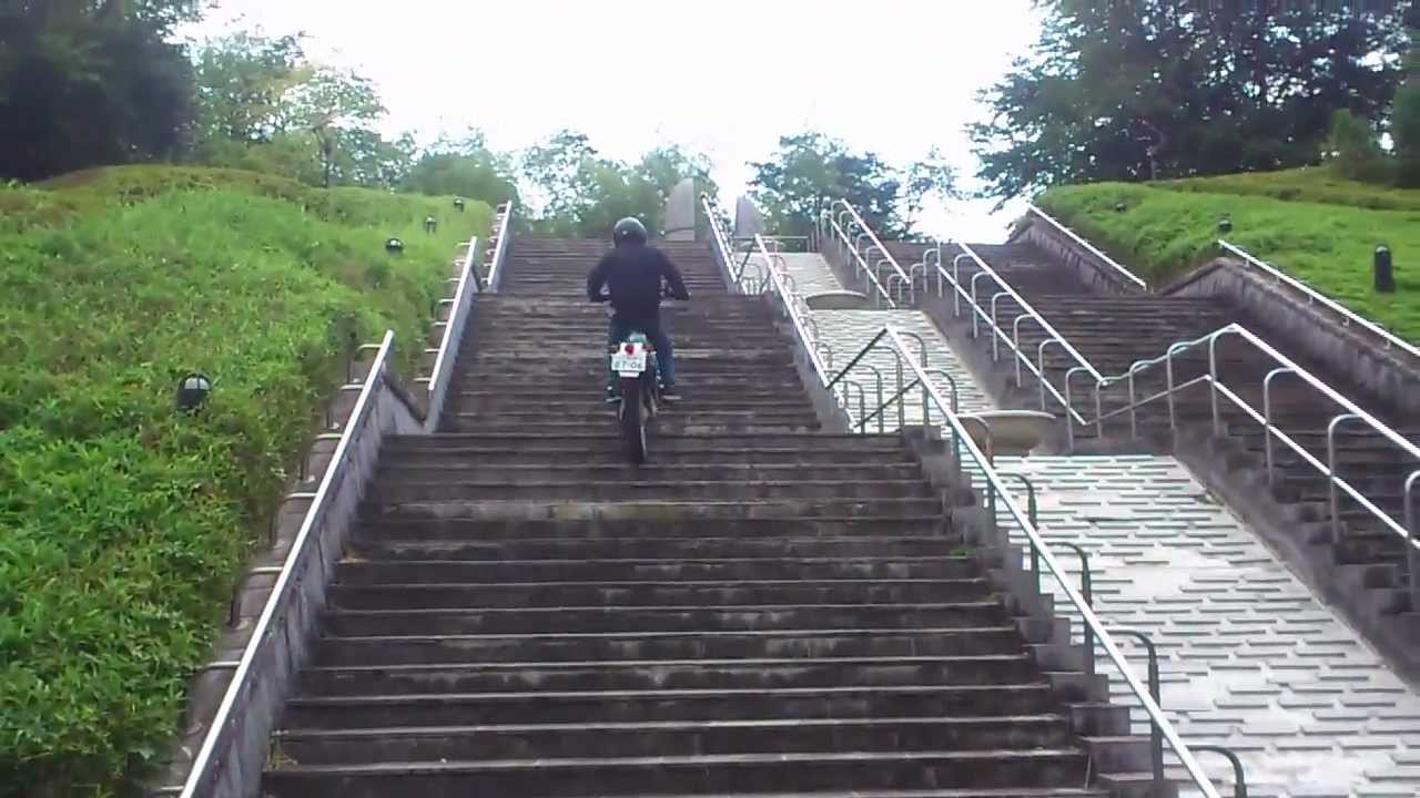画像: Serowで階段登り オフロードバイク youtu.be