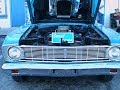 1966 Ford Falcon Sport Coupe  Blu OT020715