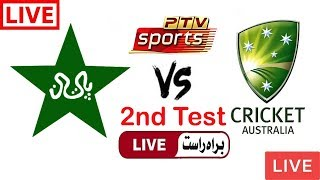 PTV Sports Live Cricket Match Today Online Pakistan vs Australia 2nd Test 2018