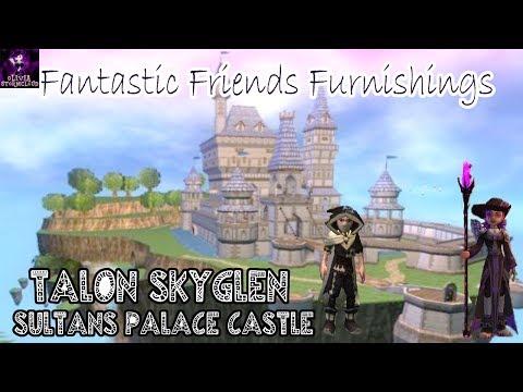 Fantastic Friends Furnishings: Talon SkyGlen's Sultan's Palace Castle