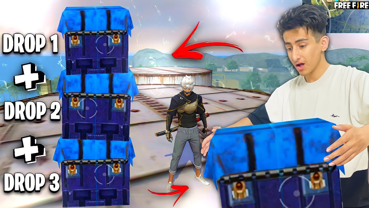 4 Airdrop  On Factory Roof must watch – Garena Free Fire