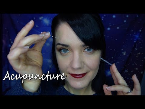 ASMR Acupuncture - Lots of Face Touching