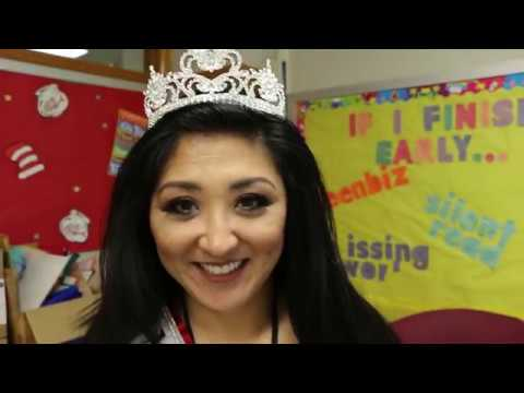 Meet Mrs. Nebraska 2018 and OPS ESL Teacher Anna Peters