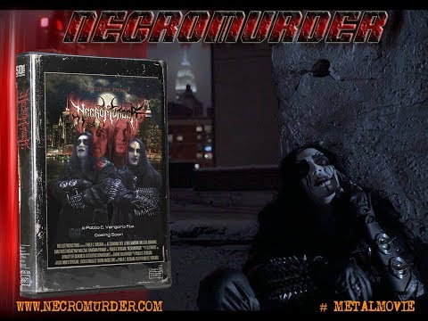 NECROMURDER (Black Metal Horror Movie) Noir Scene + Teaser HD (2018)