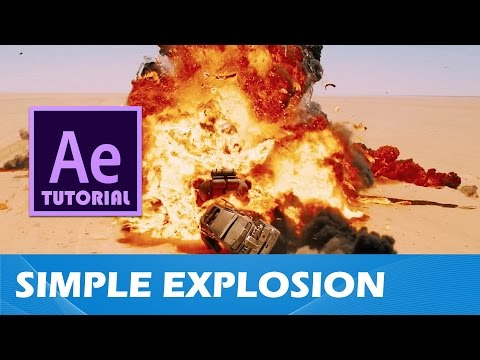 Tutorial #5 - Simple Explosion (After Effects)(2016)