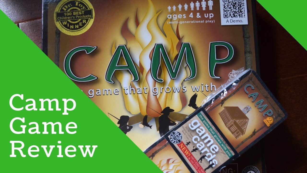 Camp Board Game Review Youtube