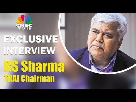 TRAI Chairman RS Sharma on IUC Rate Cut | Exclusive Interview | Telecom At Crossroads | CNBC TV18