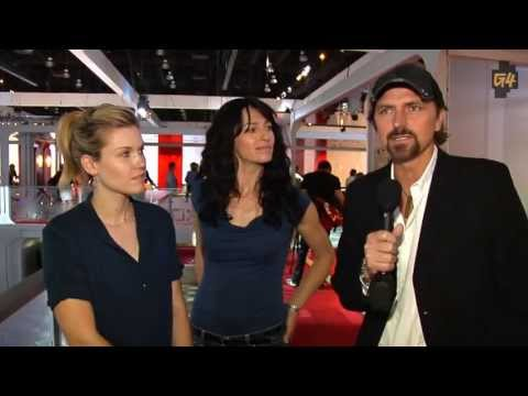 Claudia Black, Emily Rose for G4TV about Uncharted 2 characters 2009