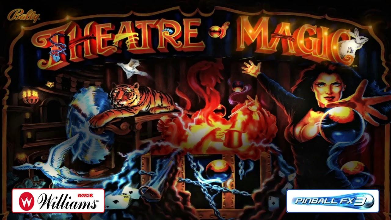 Backglass BALLY - Theatre Of Magic