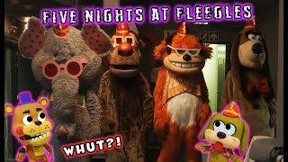 Five Nights at FLEEGLES?! The FNAF MOVIE is Here...Kinda...
