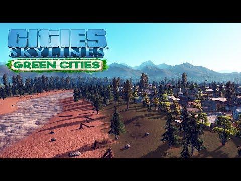 Прохождение Cities Skylines (Green Cities) #1 Новое назначение мэра в Redwood River