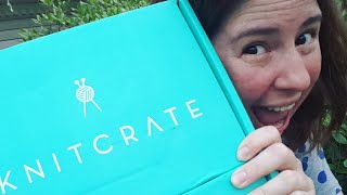 Unboxing June 2018 KnitCrate Membership AND SockCrate Subscriptions, LIVE!