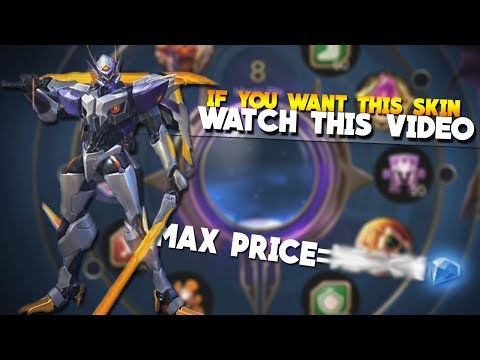 The MAX COST For The New Saber Skin Codename Storm! (Mobile Legends Magic Wheel)