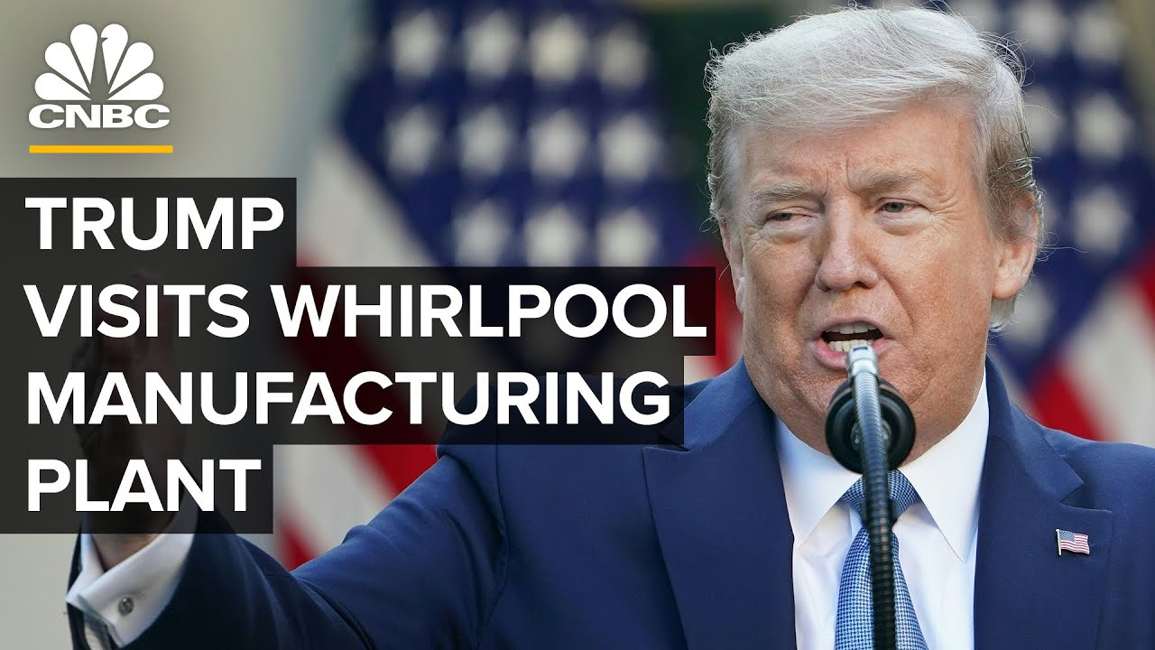 President Trump delivers remarks at Whirlpool Corporation manufacturing plant — 8/6/2020