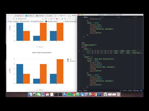 Using Plotly's Dash to deliver public sector decision