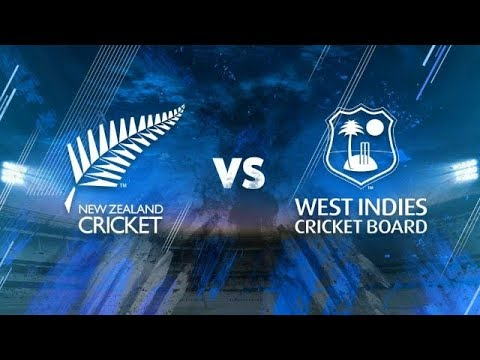 New Zealand Vs West Indies, 2nd Test Match, Hamilton, 9th DEC 2017