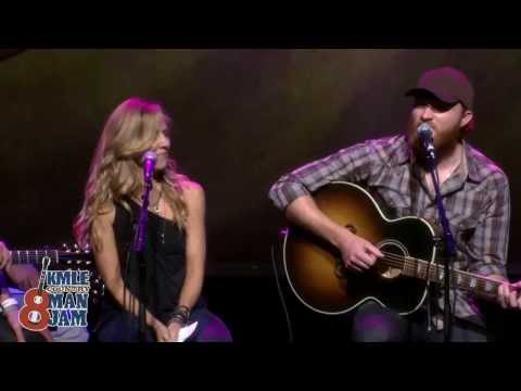 "Eric Paslay and Sheryl Crow - ""Deep As It Is Wide"" (KMLE Man Jam 2013)"