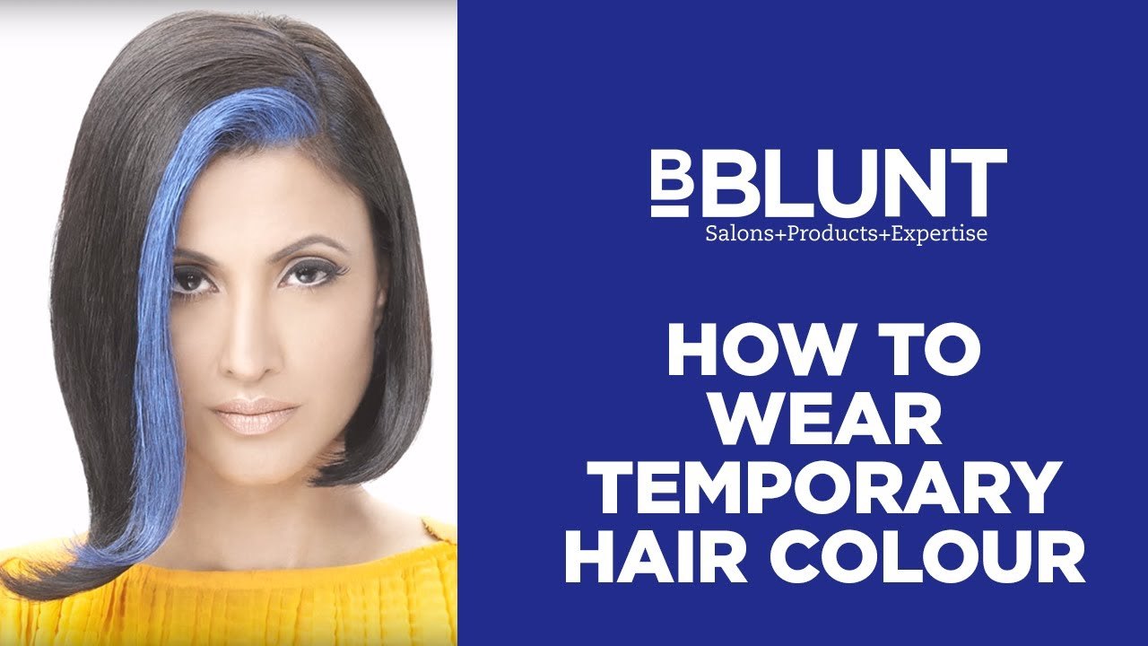 How to wear temporary hair colour bblunt do it myself youtube how to wear temporary hair colour bblunt do it myself solutioingenieria Gallery