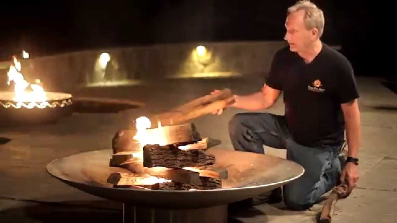 How To Start A Fire - The Easy Way - YouTube