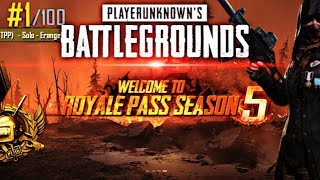 SEASON 5 ROYAL PASS UNLOCK: LIVE PUBG MOBILE