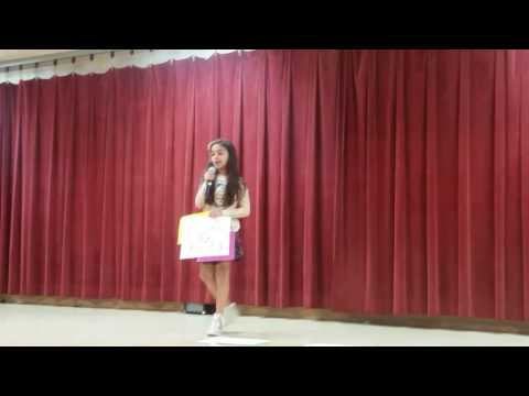 Fight Song on Talent Show