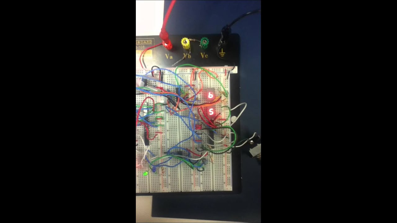 0 99 Up Counter And 555 Timer Circuit 7 Segment Display Diagram