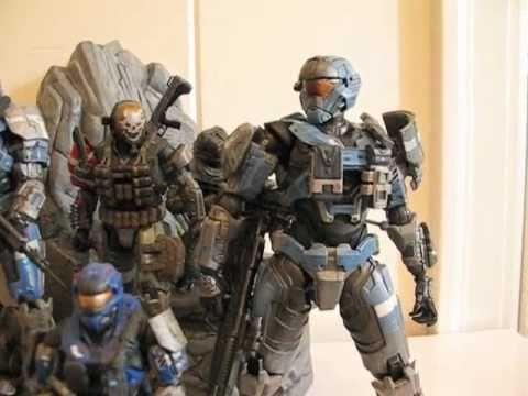 Halo Reach Play Arts Kai Carter Figure Review