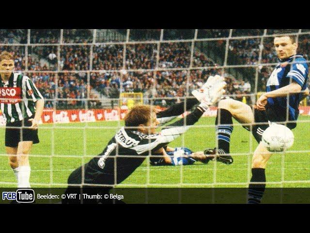 1995-1996 - Beker Van België - 06. Finale - Club Brugge - Cercle Brugge 2-1