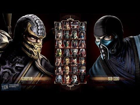 Mortal Kombat 9 Все фаталити HD (2013)