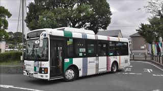 西鉄バス 北九州 2944 中間駅前